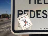 Magic Krinkdom sticker in Chicago