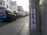 Future Now Stickers in Reykjavik, Iceland