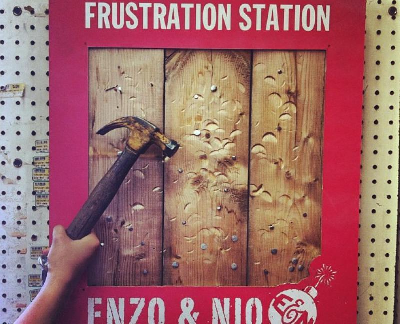 Enzo & Nio Frustration Station